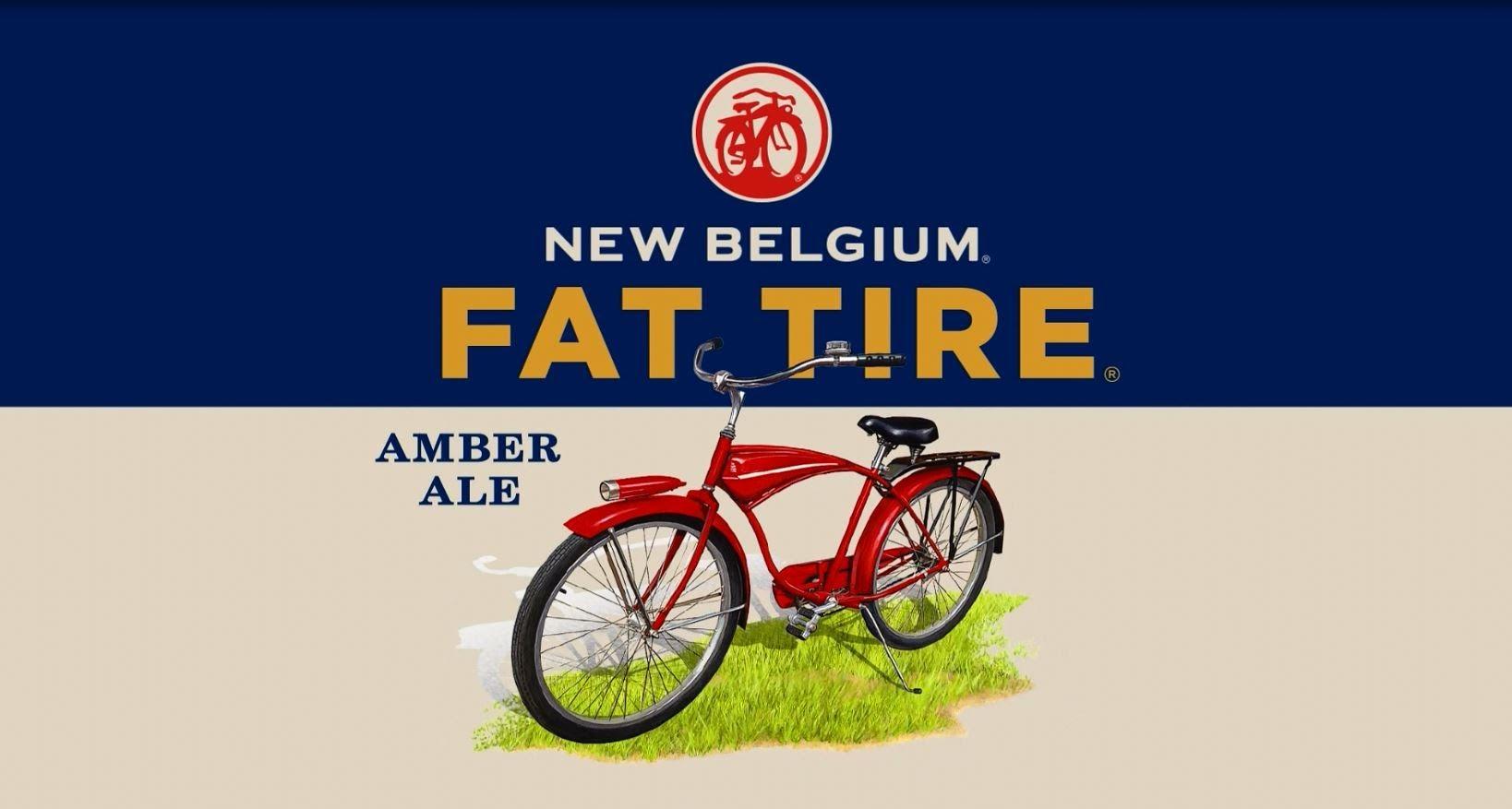 Fat Tire Beer Logo 72